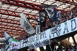 """Foto /Filippo Rubin<br /> 12/11/2017 Cesena (Italia)<br /> Sport Calcio<br /> Cesena - Salernitana - Campionato di calcio Serie B ConTe.it 2017/2018 - Stadio """"Dino Manuzzi""""<br /> Nella foto: I TIFOSI DEL CESENA<br /> <br /> Photo /Filippo Rubin<br /> November 12, 2017 Cesena (Italy)<br /> Sport Soccer<br /> Cesena - Salernitana - Italian Football Championship League B ConTe.it 2017/2018 - """"Dino Manuzzi"""" Stadium <br /> In the pic: CESENA'S SUPPORTERS"""