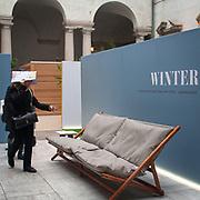 Eventi del Fuorisalone nelle strade di Milano, in occasine del Salone Internazionale del Mobile.<br /> <br /> The events of Fuorisalone around the city during the Furniture International Show in Milan.