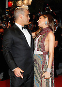 ROBBIE WILLIAM and Wife AYDA FIELD - 68TH CANNES FILM  FESTIVAL - RED CARPET FILM 'SEA OF TREES'<br /> ©Exclusivepix media