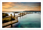 The magnificent soft light of an autumn morning at Mahon Pool [Maroubra, NSW, Australia]<br /> <br /> Image ID: 302440. Order by email to orders@girtbyseaphotography.com quoting the image ID, preferred print size & media. Current standard size prices are published on the Pricing page. Custom sizes available.