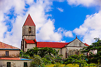 Church, La Roche, Island of Mare, Loyalty Islands, New Caledonia