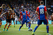 Crystal Palace midfielder Jason Puncheon during the Premier League match between Crystal Palace and Hull City at Selhurst Park, London, England on 14 May 2017. Photo by Andy Walter.