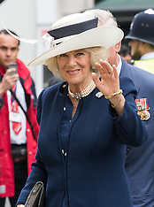 2016-05-10 Charles and Camilla attend Victory Cross and George Cross Association reunion.