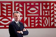 Belo Horizonte_MG, Brasil...John Krenick, presidente mundial de infraestrutura da General Electric...John Krenicki, He is president of global infrastructure at General Electric...Foto: LEO DRUMOND / NITRO.