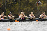 Boston, Massachusetts,  Lightweight women's eights, Princeton University competing in the  Forty Second, [42nd] Head of the Charles, 22/10/2006.  Photo  Peter Spurrier/Intersport Images...[Mandatory Credit, Peter Spurier/ Intersport Images] Rowing Course; Charles River. Boston. USA