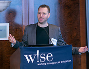 Danial Gallancy, CEO of Atakama at W!SE's 17th MoneyPOWER Institute for Financial Education on November 5, 2019.