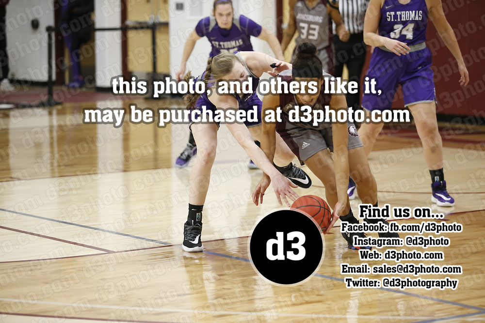 Women's Basketball: Augsburg University Auggies vs. University of St. Thomas (Minnesota) Tommies