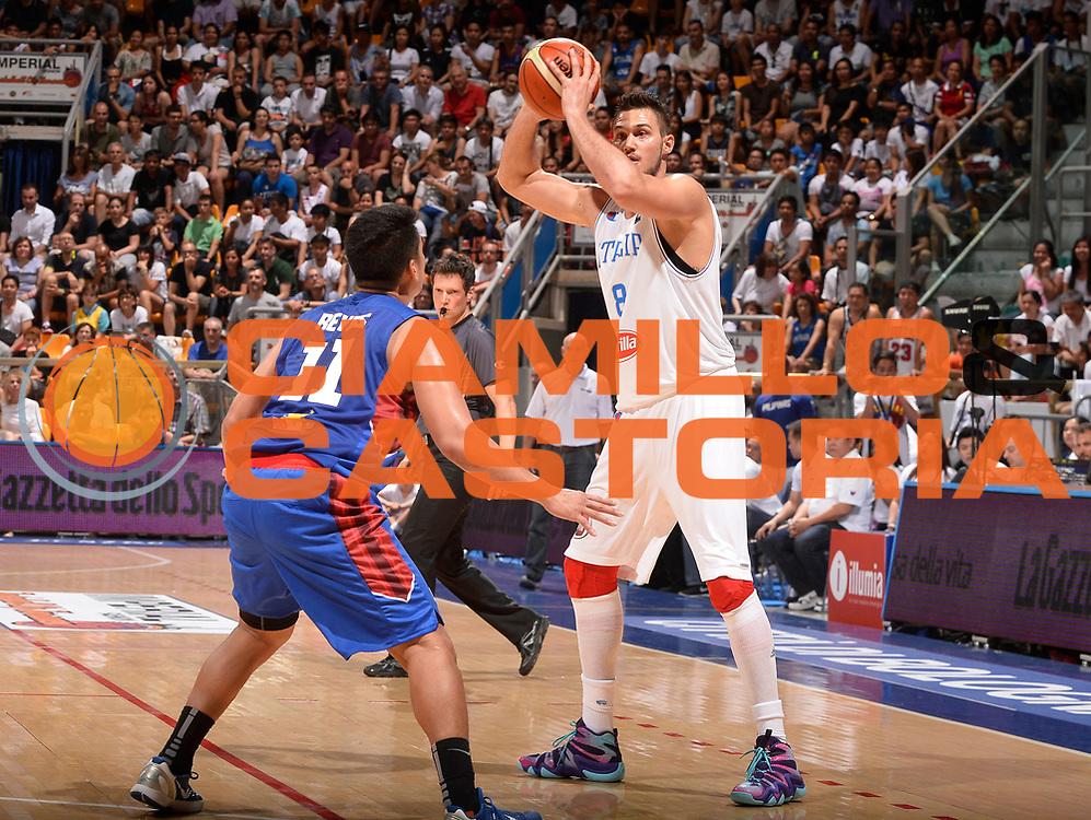 DESCRIZIONE: Bologna Basketball City Tournament - Italia Filippine<br /> GIOCATORE: Danilo Gallinari<br /> CATEGORIA: Nazionale Maschile Senior<br /> GARA: Bologna Basketball City Tournament - Italia Filippine<br /> DATA: 25/06/2016<br /> AUTORE: Agenzia Ciamillo-Castoria
