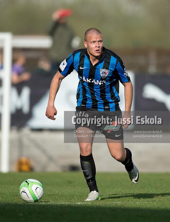 Joel Lehto. TPS - Inter. Veikkausliiga. Turku, 13.5.2013. Photo: Jussi Eskola