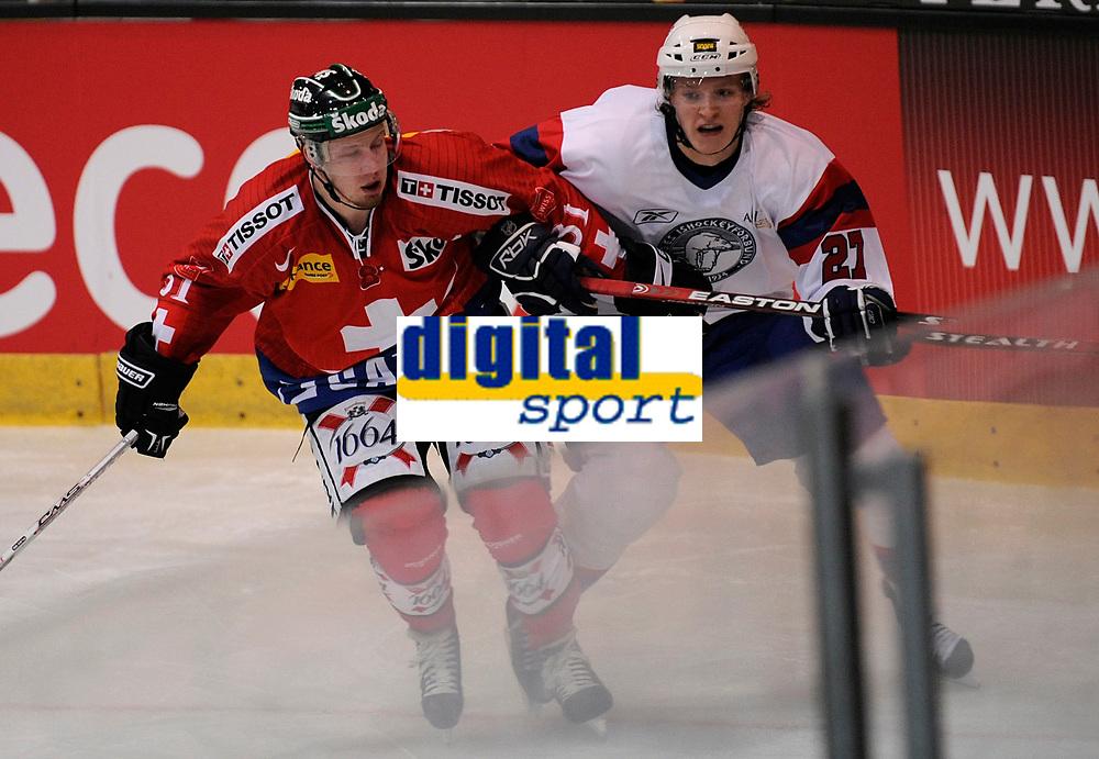 Mathias Seger (SUI) gegen Mats Froshaug © Melanie Duchene/EQ Images