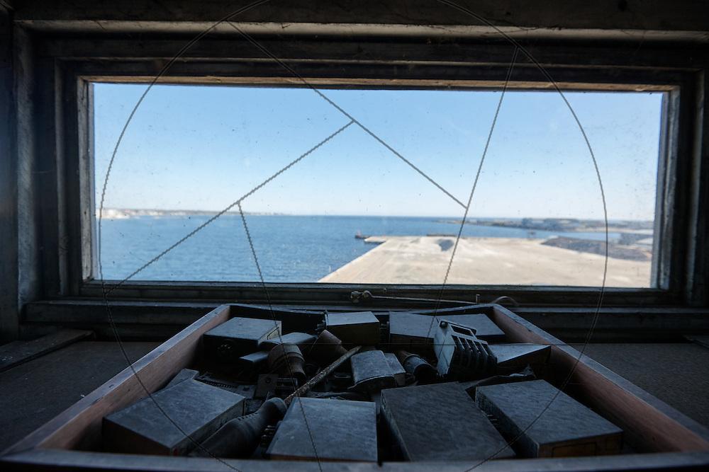 UNIONKUL, kran, Nordhavn, værktøj, reservedele, udsigt over kajen