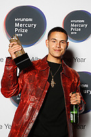 slowthai attends the media room during 2019 Hyundai Mercury Prize, Eventim Apollo, London, UK, Saturday 06 July 2019<br /> Photo JM Enternational