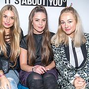 NLD/Amsterdam/20171009 - opening webshop About You, Robin Martens, Carolien Spoor en Gaby Blaaser