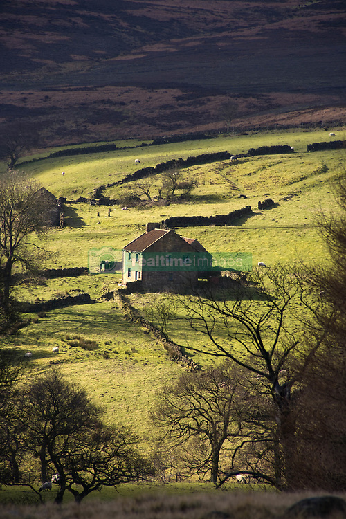 July 21, 2019 - House In Countryside, North York Moors, North Yorkshire, England (Credit Image: © John Short/Design Pics via ZUMA Wire)