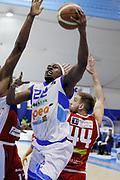 DESCRIZIONE : Capo dOrlando Lega A 2014-15 Orlandina UPEA Basket Consultinvest Pesaro  <br /> GIOCATORE :  Sek Henry<br /> CATEGORIA :  Penetrazione Tiro<br /> SQUADRA : Orlandina UPEA Basket Consultinvest Pesaro <br /> EVENTO : Campionato Lega A 2014-2015 <br /> GARA : Orlandina UPEA Basket  Consultinvest Pesaro <br /> DATA : 15/03/2015 <br /> SPORT : Pallacanestro <br /> AUTORE : Agenzia Ciamillo-Castoria/G. Pappalardo <br /> Galleria : Lega Basket A 2014-2015 <br /> Fotonotizia : Capo dOrlando Lega A 2014-15 Orlandina UPEA Basket Consultinvest Pesaro