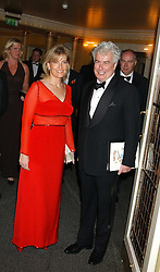 HRH The COUNTESS OF WESSEX and KEN FOLLETT at the Dyslexia Awards Dinner attended by HRH The Countess of Wessex held at The Dorchester Hotel, Park Lane, London on 9th November 2005.<br /><br />NON EXCLUSIVE - WORLD RIGHTS