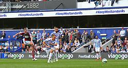 West Ham United's Kevin Nolan takes a shot at goal - Photo mandatory by-line: Mitchell Gunn/JMP - Mobile: 07966 386802 - 25/04/2015 - SPORT - Football - London - Loftus Road<br />  - QPR v West Ham United - Barclays Premier League
