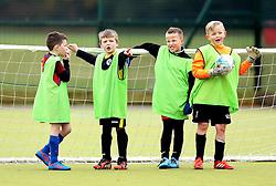 Children take part in the Bristol Rovers Half Term Holiday Camp - Mandatory by-line: Robbie Stephenson/JMP - 27/10/2016 - FOOTBALL - Magotsfield School - Bristol, England - Bristol Rovers Half Term Holiday Camp