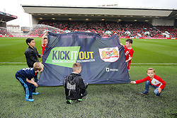Kick it out Banner - Rogan Thomson/JMP - 22/10/2016 - FOOTBALL - Ashton Gate Stadium - Bristol, England - Bristol City v Blackburn Rovers - Sky Bet EFL Championship.