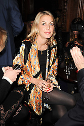 Camilla Stopford Sackville at the Tatler Little Black Book Party held at Tramp, 40 Jermyn Street, London on 3rd November 2010.