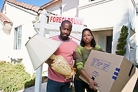 Bankrupt couple moving out of house