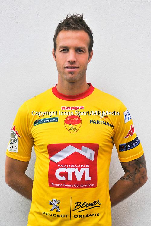 Maxime Brillaut - 04.09.2014 - Photo officielle Orleans - Ligue 2 2014/2015<br /> Photo : Philippe Le Brech / Icon Sport