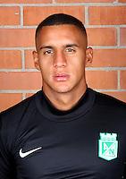 Colombia League - Postobom Liga 2014-2015 -<br /> Club Atletico Nacional Medellin - Colombia / <br /> Cristian Bonilla