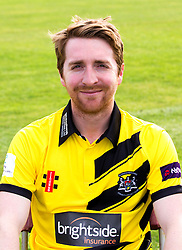Tom Smith of Gloucestershire Cricket poses for a headshot in the NatWest T20 Blast kit - Mandatory by-line: Robbie Stephenson/JMP - 04/04/2016 - CRICKET - Bristol County Ground - Bristol, United Kingdom - Gloucestershire  - Gloucestershire Media Day
