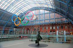 St. Pancras international rail station