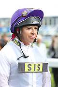 Jockey Victoria Smith during the opening day of the St Leger Festival at Doncaster Racecourse, Doncaster, United Kingdom on 11 September 2019.
