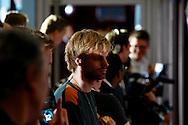 AMSTERDAM - In het Rai theater is de filmpremiere van Iron Man 3. Met op de foto  Tim Hofman. FOTO LEVIN DEN BOER - PERSFOTO.NU