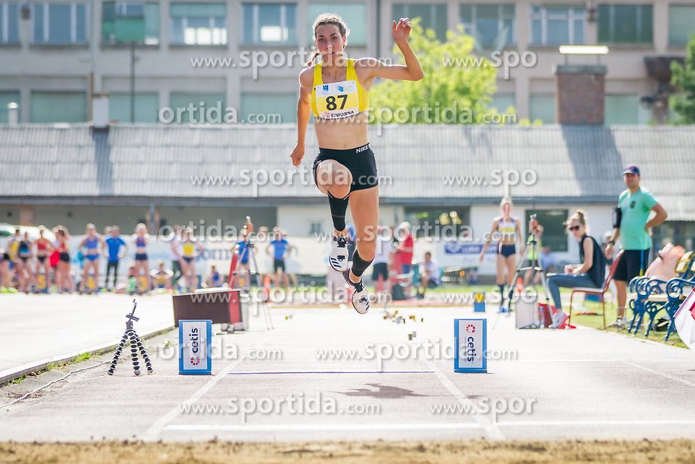 Eva Pepelnak competes during day 1 of Slovenian Athletics Cup 2019, on June 15, 2019 in Celje, Slovenia. Photo by Peter Kastelic / Sportida