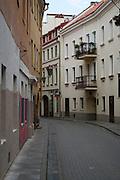 Walking through Old Town/Senamiestas, Vilnius, Lithuania