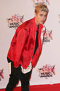 CANNES, FRANCE - NOVEMBER 07:  Justin Bieber attends the17th NRJ Music Awards at Palais des Festivals on November 7, 2015 in Cannes, France.  (Photo by Tony Barson/FilmMagic)