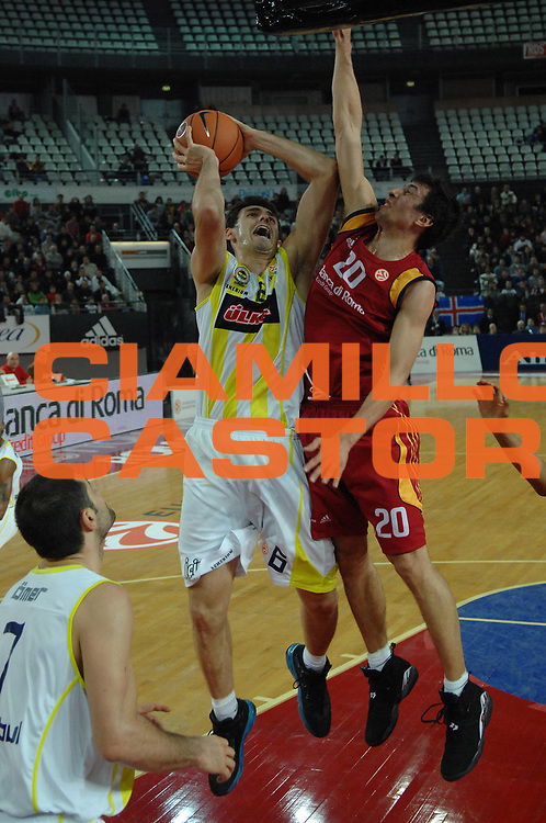 DESCRIZIONE : Roma Eurolega 2007-08 Lottomatica Virtus Roma  Fenerbahce Ulker Istanbul <br /> GIOCATORE : Mirsad Turkcan<br /> SQUADRA : Fenerbahce Ulker<br /> EVENTO : Eurolega 2007-2008 <br /> GARA : Lottomatica Virtus Roma Fenerbahce Ulker <br /> DATA : 03/01/2008<br /> CATEGORIA : Tiro<br /> SPORT : Pallacanestro <br /> AUTORE : Agenzia Ciamillo-Castoria/E.Grillotti