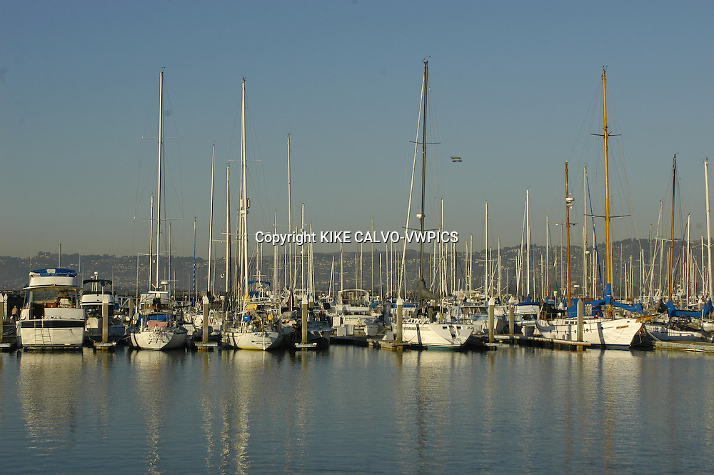 Oakland Marina and Harbor, San Francisco Bay, California, United States