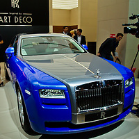 Rolls Royce Ghost (2013) at the Paris Motor Show 2012