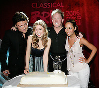 The Classical BRIT Awards 2006 Nominations Launch, <br /> 10,04,2006, <br /> The Palace Suite, Royal Garden Hotel<br /> Photo: John Marshall, JM Enternational