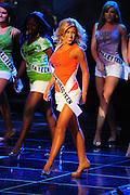 "November 22, 2009; Rancho Mirage, CA, USA; Miss Greater San Diego Teen USA Taylor Snyder during the Miss California Teen USA 2010 Pageant at ""The Show"" at the Agua Caliente Resort & Spa. Mandatory Credit: Kyle Terada-Terada Photo"