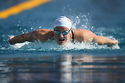 Marie Wattel (FRA) competes on Women's 100 m Butterfly during the French Open 2018, at Aquatic Center Odyssée in Chartres, France on July 7th to 8th, 2018 - Photo Stephane Kempinaire / KMSP / ProSportsImages / DPPI