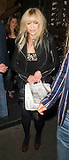 28.OCTOBER.2009 - LONDON<br /> <br /> JO WOOD WHO WAS RECENTLY ELIMINATED FROM STRICLY COME DANCING LEAVING MAHIKI NIGHTCLUB WITH A FRIEND.<br /> <br /> BYLINE: EDBIMAGEARCHIVE.COM<br /> <br /> *THIS IMAGE IS STRICTLY FOR UK NEWSPAPERS &amp; MAGAZINES ONLY*<br /> *FOR WORLDWIDE SALES &amp; WEB USE PLEASE CONTACT EDBIMAGEARCHIVE-0208 954 5968*