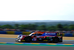 June 16, 2018 - Le Mans, Sarthe, France - GRAFF-SO24 ORECA 07 Gibson Driver VINCENT CAPILLAIRE (FRA) in action during the 86th edition of the 24 hours of Le Mans 2nd round of the FIA World Endurance Championship at the Sarthe circuit at Le Mans - France (Credit Image: © Pierre Stevenin via ZUMA Wire)