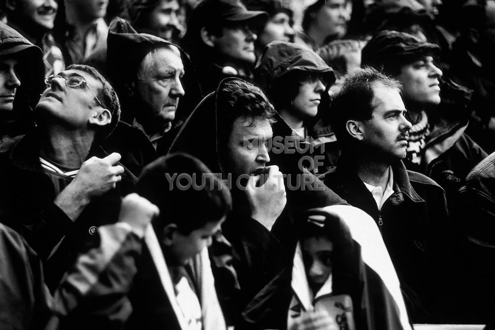 Chelsea Football Club, Football supporters, London, U.K, season 1999/2000.