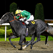 Secret Archive and Jim Crowley winning the 5.00 race