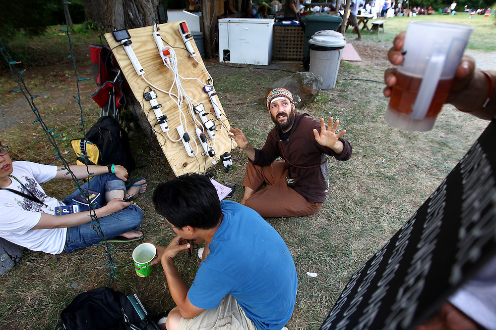 The Wild Goose Festival at Shakori Hills in North Carolina June 24, 2011.  (Photo by Courtney Perry)