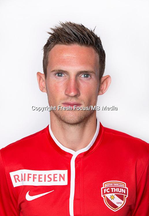 16.07.2013; Thun; Fussball Super League - Portrait FC Thun; Mathieu Salamand. (Christian Pfander/freshfocus)