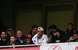 Pierre-Emerick Aubameyang of Arsenal seen in the stands during the game - Mandatory by-line: Arron Gent/JMP - 18/01/2020 - FOOTBALL - Emirates Stadium - London, England - Arsenal v Sheffield United - Premier League