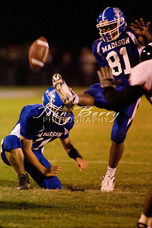 MCHS Varsity Football.vs George Mason.10/12/2007..