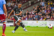 Youri Tielemans of Leicester City (8) takes a free kick during the Pre-Season Friendly match between Scunthorpe United and Leicester City at Glanford Park, Scunthorpe, England on 16 July 2019.