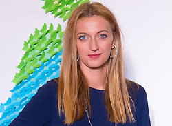 September 22, 2018 - Petra Kvitova of the Czech Republic on the red carpet at the 2018 Dongfeng Motor Wuhan Open WTA Premier 5 tennis tournament players party (Credit Image: © AFP7 via ZUMA Wire)